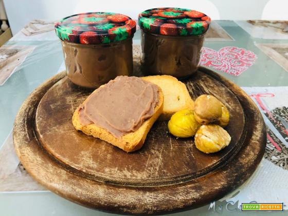 Castagne o Marroni cotti al vapore e Crema di Castagne col CuCo Moulinex