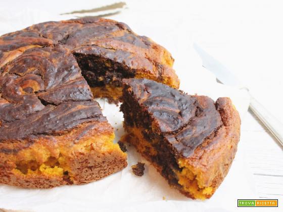 Ciambella Marmorizzata Zucca & Cacao