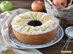 Ciambella alla ricotta e mele