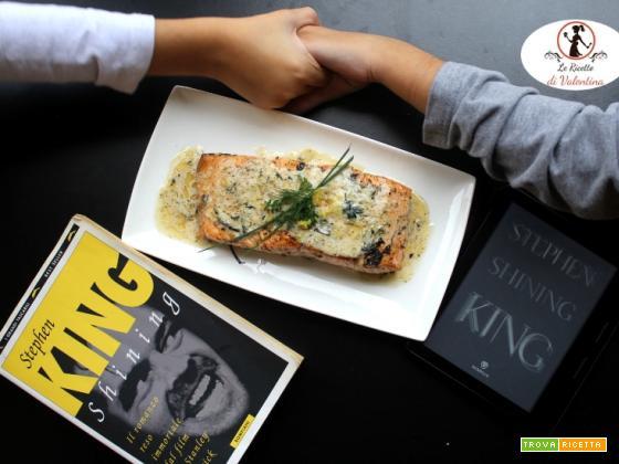 MANGIA CIO` CHE LEGGI 125: salmone alle erbe ispirato da Shinning di Stephen King