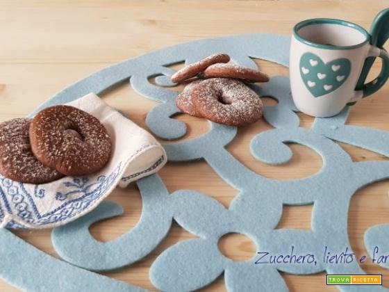 Biscotti al farro e cioccolato senza burro
