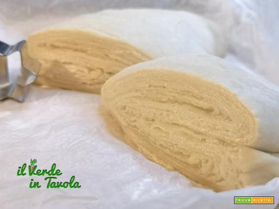 Pasta sfoglia vegan con margarina autoprodotta la ricetta