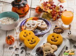 La colazione di Halloween: frollini decorati, succo e muesli!