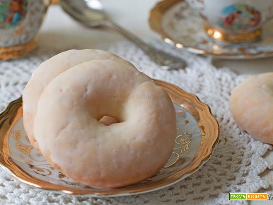 Taralli siciliani biscotti glassati