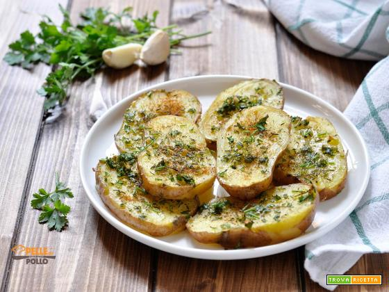 Patate al forno con erbe aromatiche e paprika
