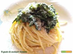 Spaghetti con broccoletti e alici