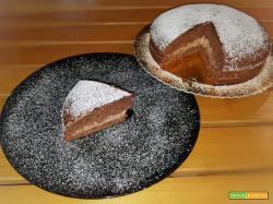 Torta nera alla Nutella