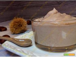 Crema di castagne senza zucchero ne latte