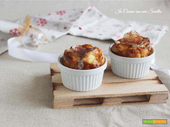 Tortini di patate e salame filanti – idea natalizia