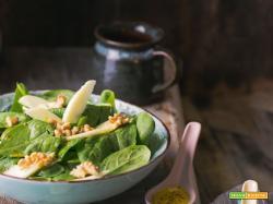 Spinacino con salsa agrumata e senape