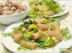 Rigatoni integrali con le verdure autunnali