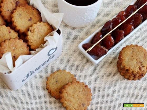 È tempo di provare i biscotti ai datteri!