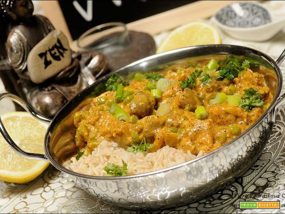 Dhingri matar – curry semplice di funghi e piselli