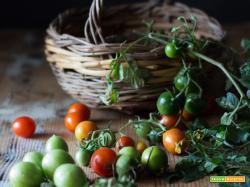 Pomodorini Confit e la Filastrocca della felice merenda