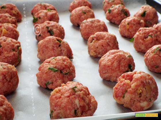 Polpette di carne al forno
