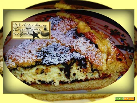 Crostata Mascarpone  e Cioccolata un cuore di bontà…