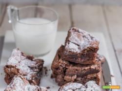 Ricetta Brownies alla Nutella SENZA BURRO