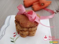 Biscotti alle carote e nocciole
