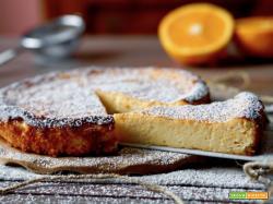 Torta all'Arancia e Ricotta 4 Ingredienti