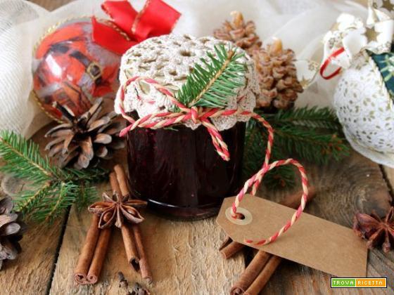 Confettura di mirtilli speziata, per un Natale dolce…
