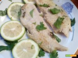 Filetti pesce al limone