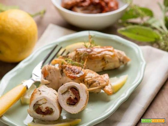 Saltimbocca al limone da mangiare tutti d'un fiato