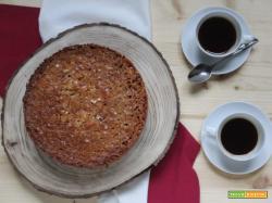 Toscakaka: la torta svedese di mandorle e caramello