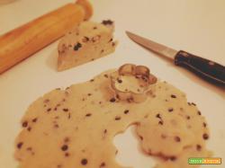Pasta frolla di RISO e gocce di CIOCCOLATO