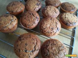 Muffin cocco e cioccolato senza glutine
