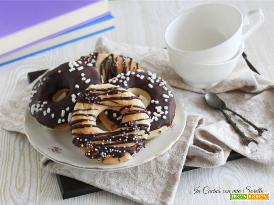 Donuts al forno soffici e golosissimi