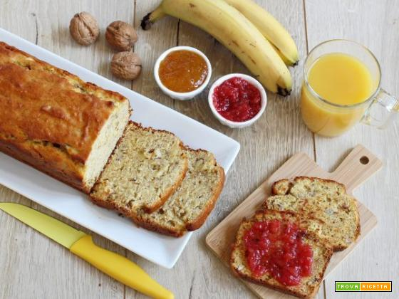 Il goloso banana bread: per la colazione e non solo