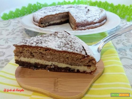 Torta con amaretti e cioccolato Crescionda