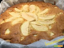 Torta di mele e cannella senza burro