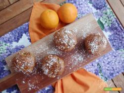 Muffin al grano saraceno e arancia