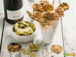 Lollipop di Parmigiano Reggiano e semi, la fusione perfetta