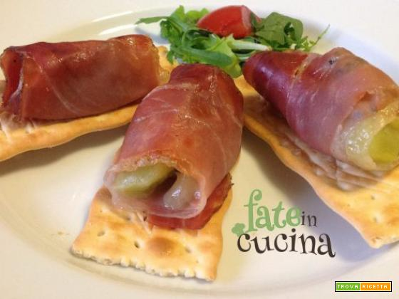 Involtini di Speck e Kiwi – Ricetta Light