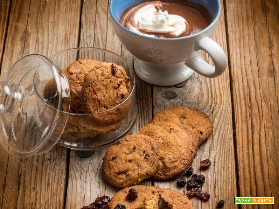 Colazione equilibrata? Ecco i biscotti con mirtilli disidratati