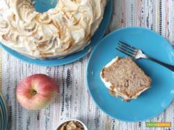 Torta di mele e noci al caramello – Ricetta di Cynthia Barcomi
