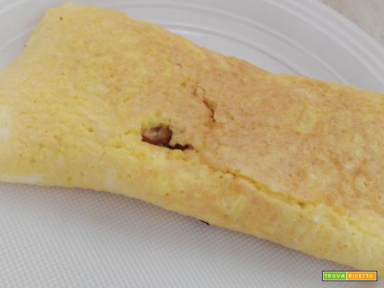 Omelette ai funghi freschi