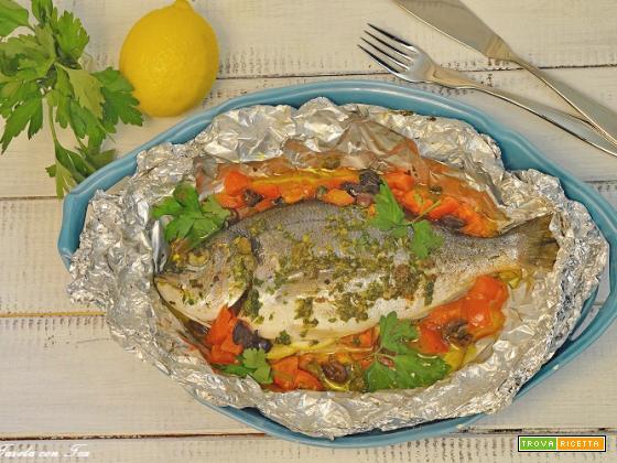 Pesce al cartoccio ricetta facile