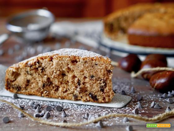 Torta 5 Minuti con Farina di Castagne