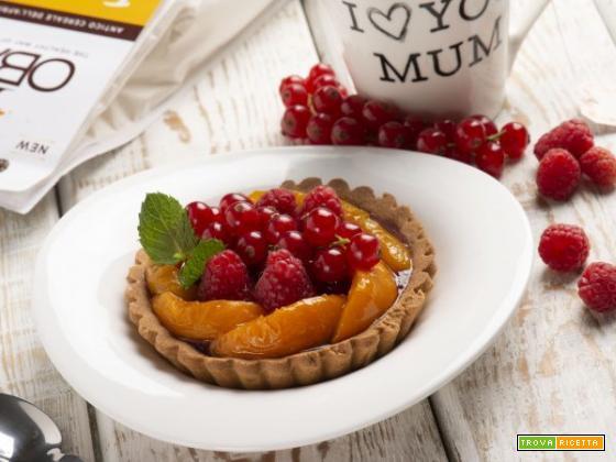 Crostata con farina di fonio e mais, la base perfetta per un dolce senza glutine