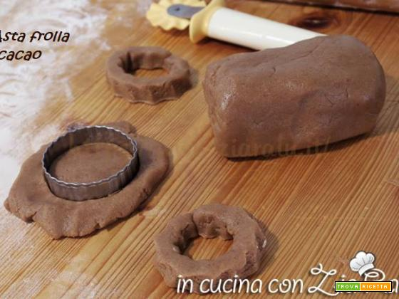 Pasta frolla al cacao semplice