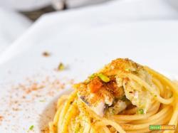 Spaghetti pesce spada finocchi e bottarga