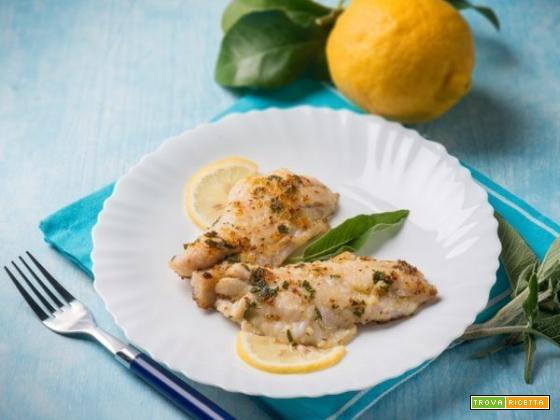 Filetti di cernia al limone : la salute viene dal mare