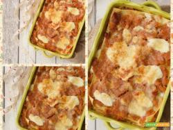 Lasagne con sugo di lenticchie