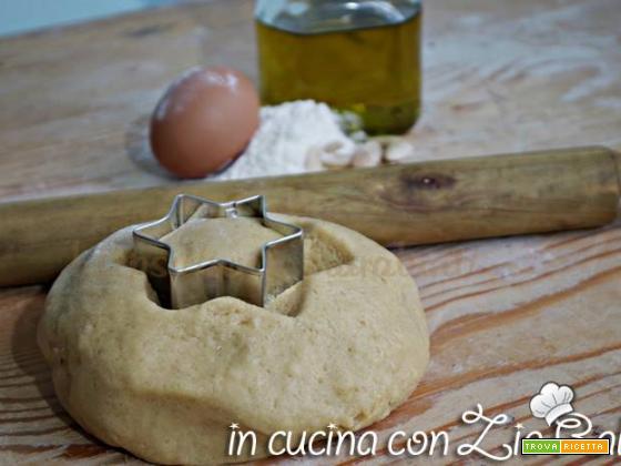Pasta frolla mandorle e olio