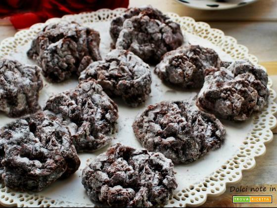 Biscotti soffici al cioccolato