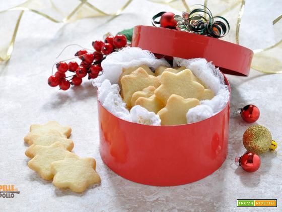 Shortbread alle mandorle – Biscotti di Natale semplici