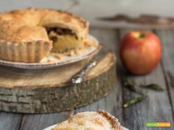 Torta cuor di mela (ripieno di crema e mele)